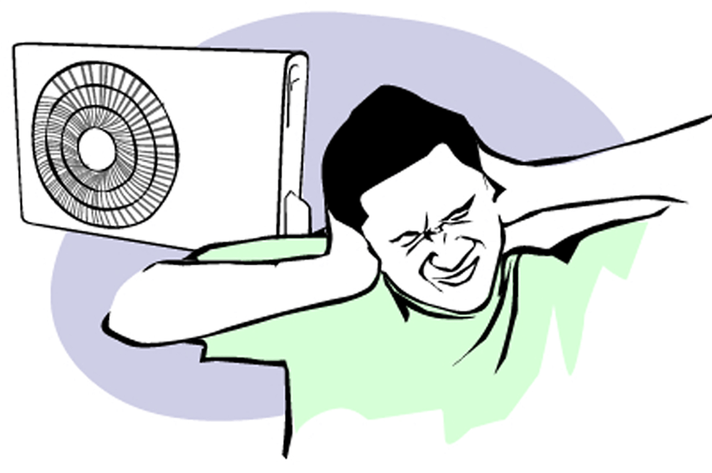 Noisy Air Conditioners