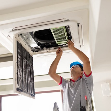 ducted air conditioning service